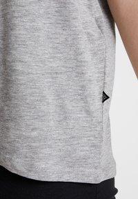 Noisy May - NMMATHILDE  - Basic T-shirt - light grey melange - 4
