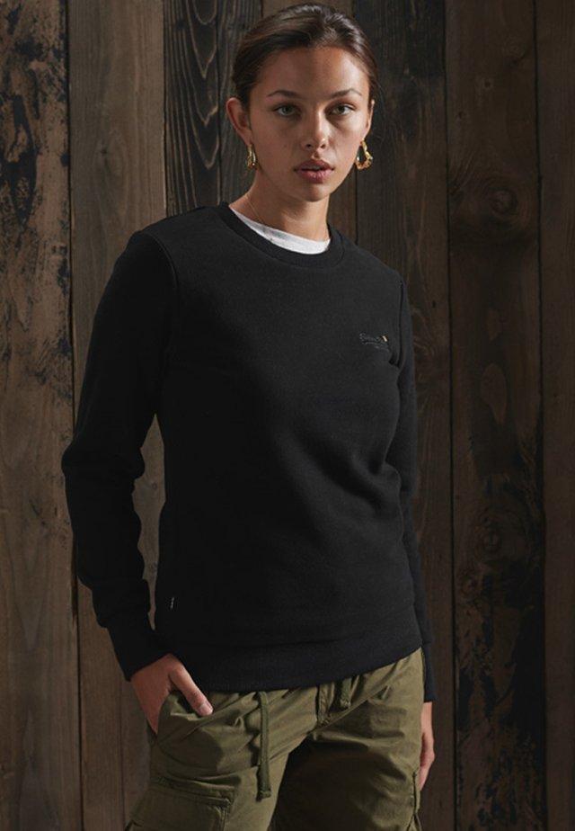 ORANGE LABEL CREW  - Sweatshirt - black