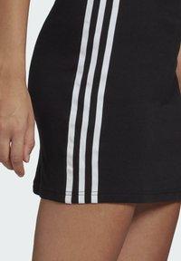 adidas Originals - RACER DRESS - Jersey dress - black - 5