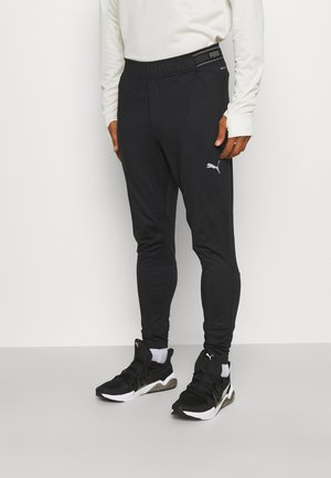 RUN COOLADAPT TAPERED PANT - Tracksuit bottoms - black