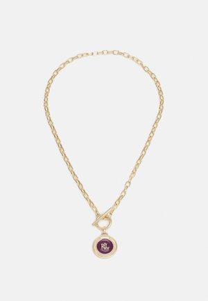 PENDANT - Smykke - gold-coloured/burgundy
