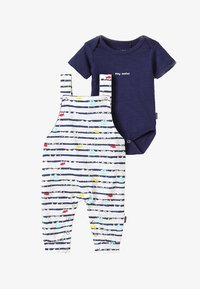 Noppies - DUNGAREE ROMPER RIFLE BABY ZGREEN - Body - patriot blue - 6