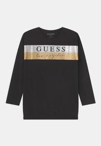 Guess - JUNIOR - Camiseta de manga larga - jet black - 0