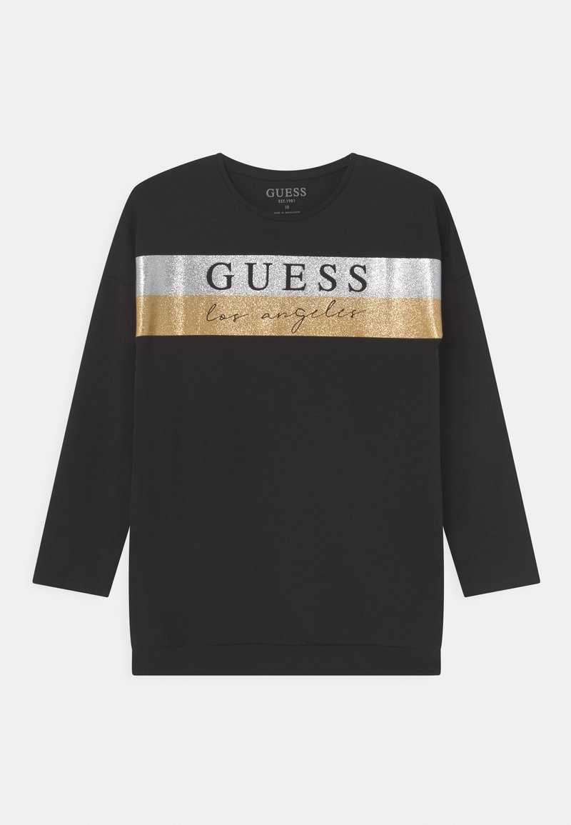 Guess - JUNIOR - Camiseta de manga larga - jet black