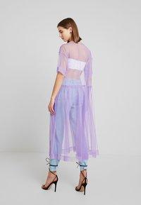 Monki - SILVIA DRESS - Korte jurk - tulle purple - 0