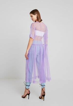 SILVIA DRESS - Day dress - tulle purple