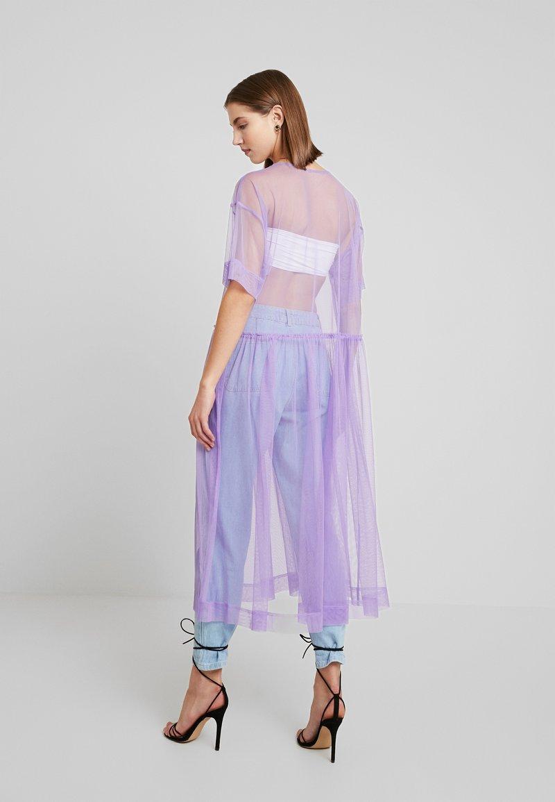 Monki - SILVIA DRESS - Korte jurk - tulle purple