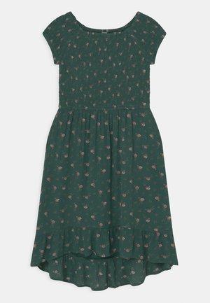 MIDI DRESS - Day dress - green
