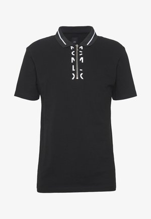 PLACKET POLO - Polo shirt - black