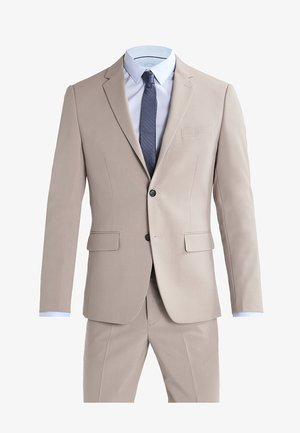 PLAIN MENS SUIT - Oblek - beige