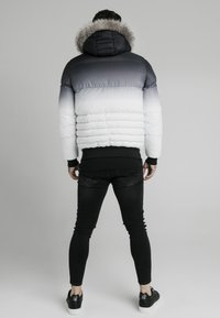 SIKSILK - DISTANCE JACKET - Winterjas - black/white - 2