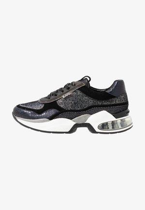 LAZARE GLITZ MIX - Sneakers - black/silver