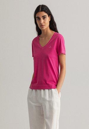 SUNFADED - Camiseta estampada - cabaret pink