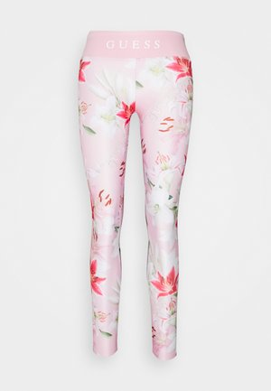 JUNIOR ACTIVE - Legging - pink/red