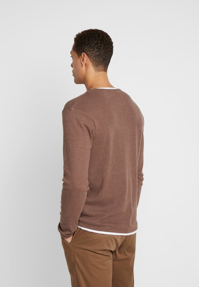 SARASOTA ROUND - Jumper - mocca brown