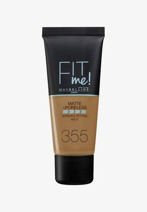 FIT ME MATTE & PORELESS MAKE-UP - Foundation - 355 pecan