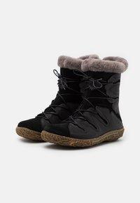 El Naturalista - NIDO - Winter boots - black - 2