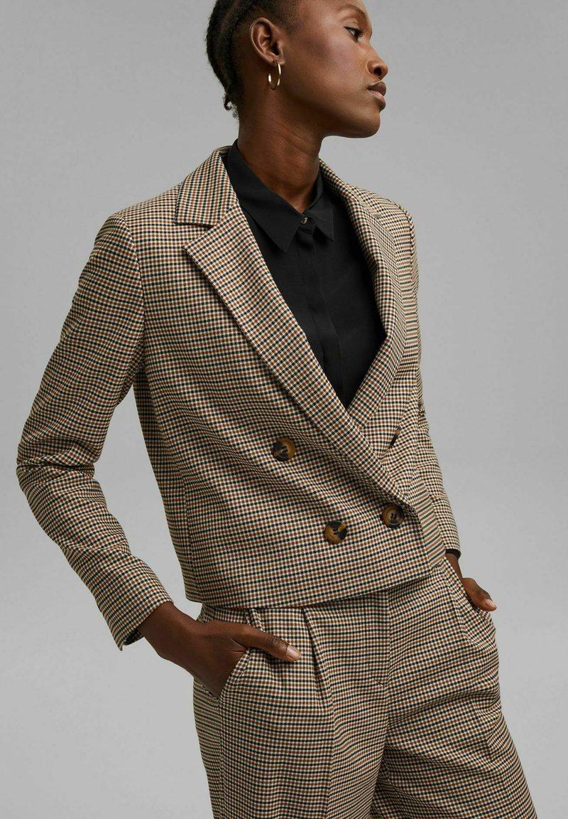 Esprit Collection - Blazer - khaki beige