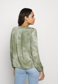 b.young - BYJANETTE - Blouse - sea green combi - 2