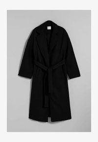 Bershka - MANTEL - Halflange jas - black - 4