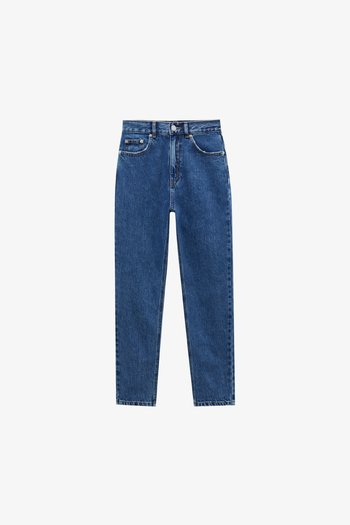 Relaxed fit jeans - dark-blue denim