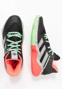 adidas Performance - HARDEN STEPBACK - Basketball shoes - core black/grey two/glow mint - 1