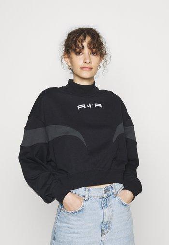 AIR MOCK - Sweatshirt - black