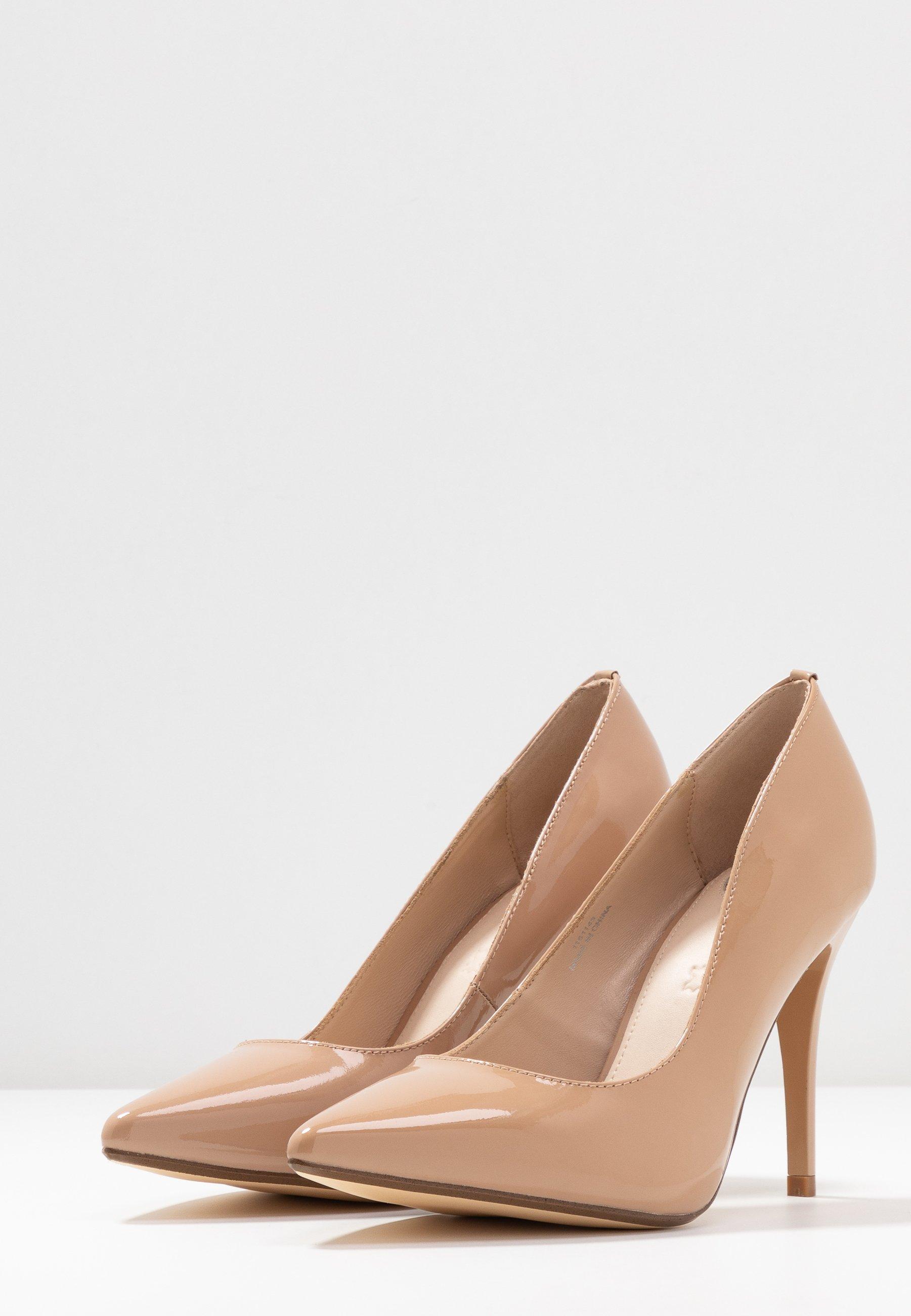 Buffalo Escarpins à talons hauts - nude - Chaussures à talons femme En ligne