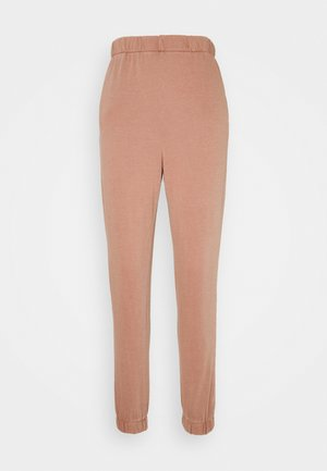HIGHWAISTED TRACKPANT - Tracksuit bottoms - rust tan