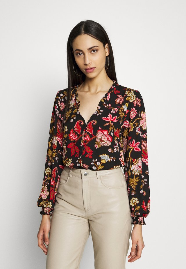 ORIENTAL TAPESTRY BLOUSE - Blouse - black