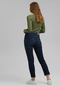 Esprit - Slim fit jeans - blue dark washed - 2