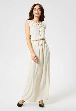 Maxi dress - beige