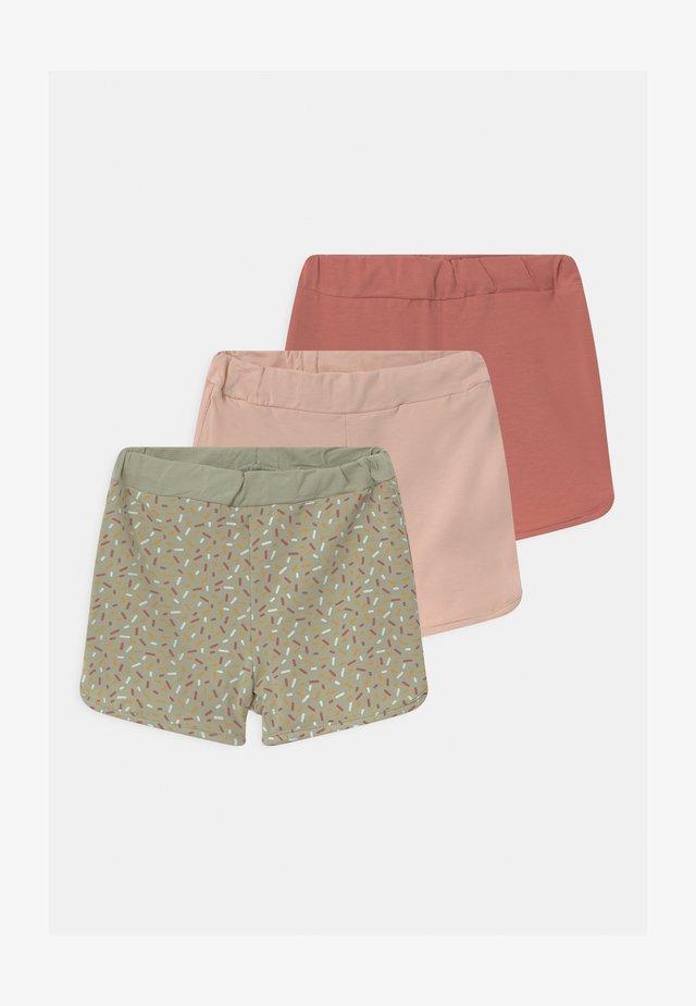 NBFBARBEL 3 PACK - Shorts - desert sage