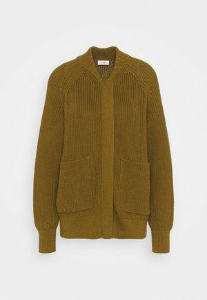 HEAVY JUMPER - Cardigan - golden brown