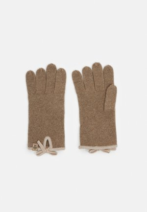 Gloves - truffle/beige