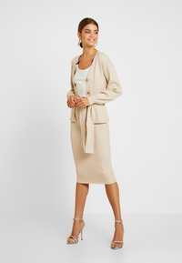 Glamorous - Pencil skirt - stone - 1