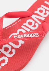 Havaianas - TOP LOGOMANIA  - Pool shoes - ruby red - 5