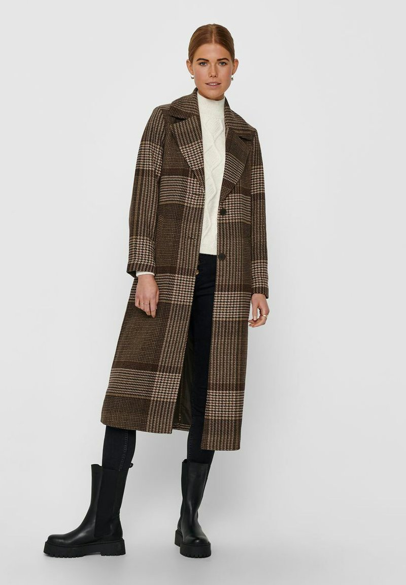 ONLY - Classic coat - chicory coffee
