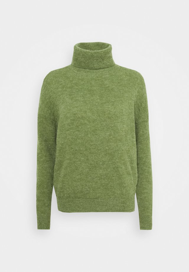 FEMME ROLL NECK  - Pullover - vineyard green