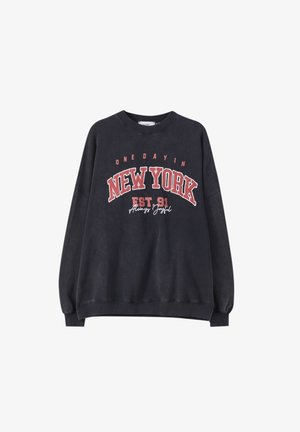 MIT SLOGAN - Sweatshirt - dark grey