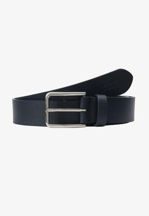 UNISEX LEATHER - Belte - dark blue