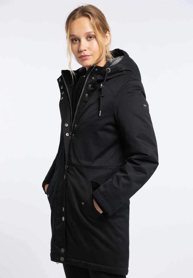 usha - Winter coat - black