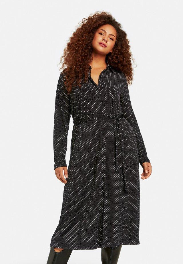 Maxi dress - black gemustert