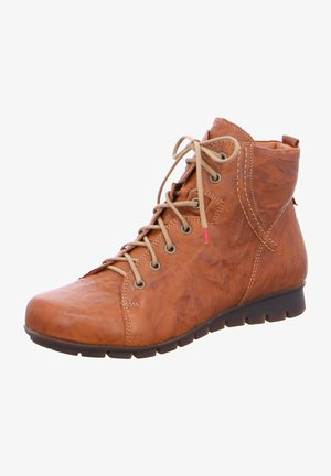 MENSCHA - Lace-up ankle boots - braun