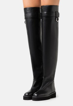 STIVALE DONNA BOOT - Ylipolvensaappaat - black