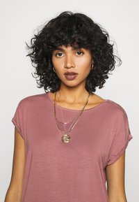 Vero Moda - VMAVA PLAIN - T-shirt basic - rose brown