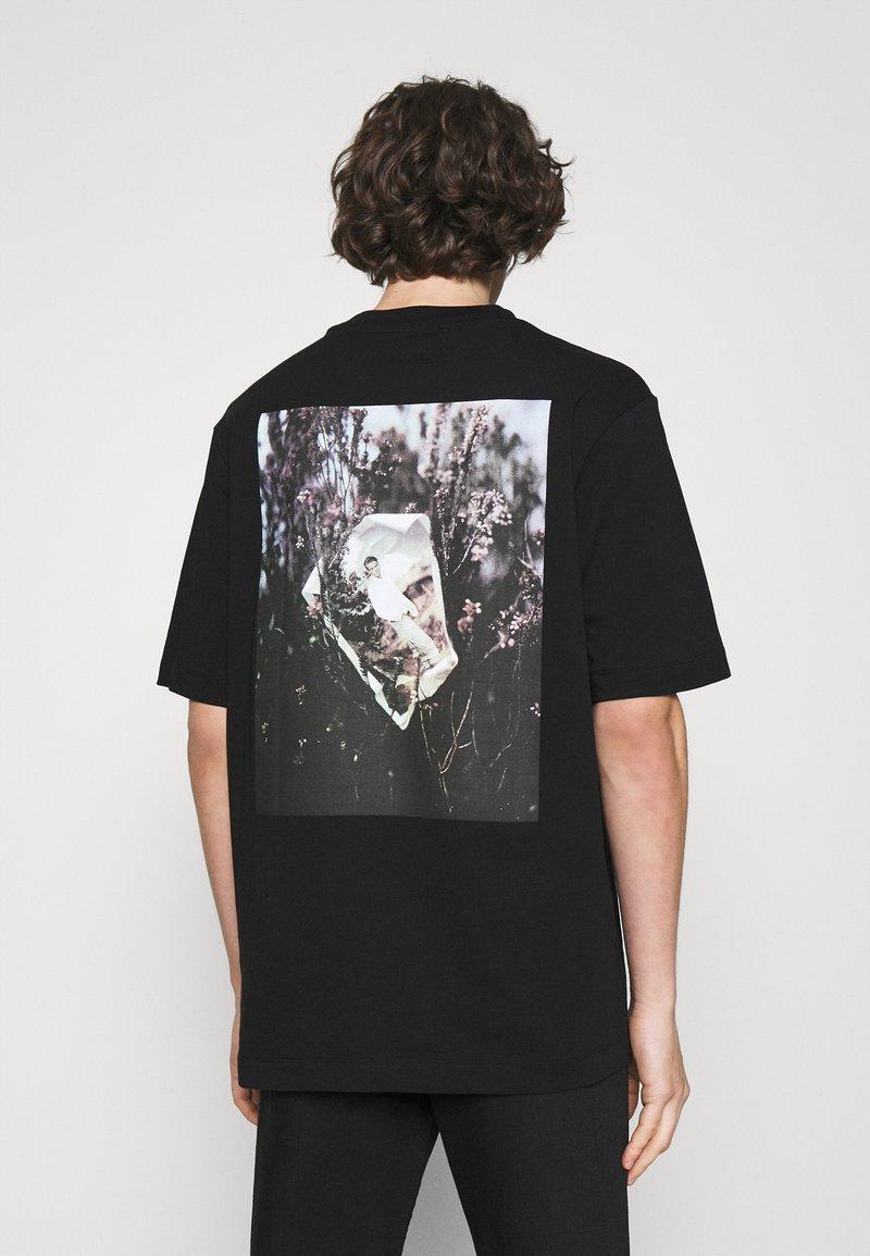 Trussardi - PICTURE - Print T-shirt - black