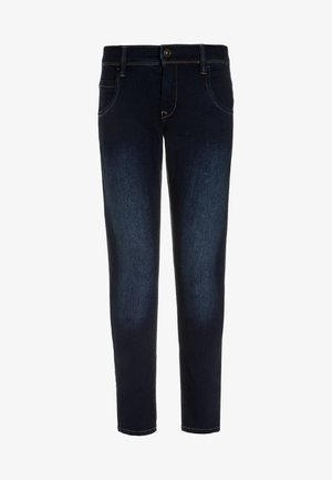 NITTAX  - Skinny džíny - dark blue denim