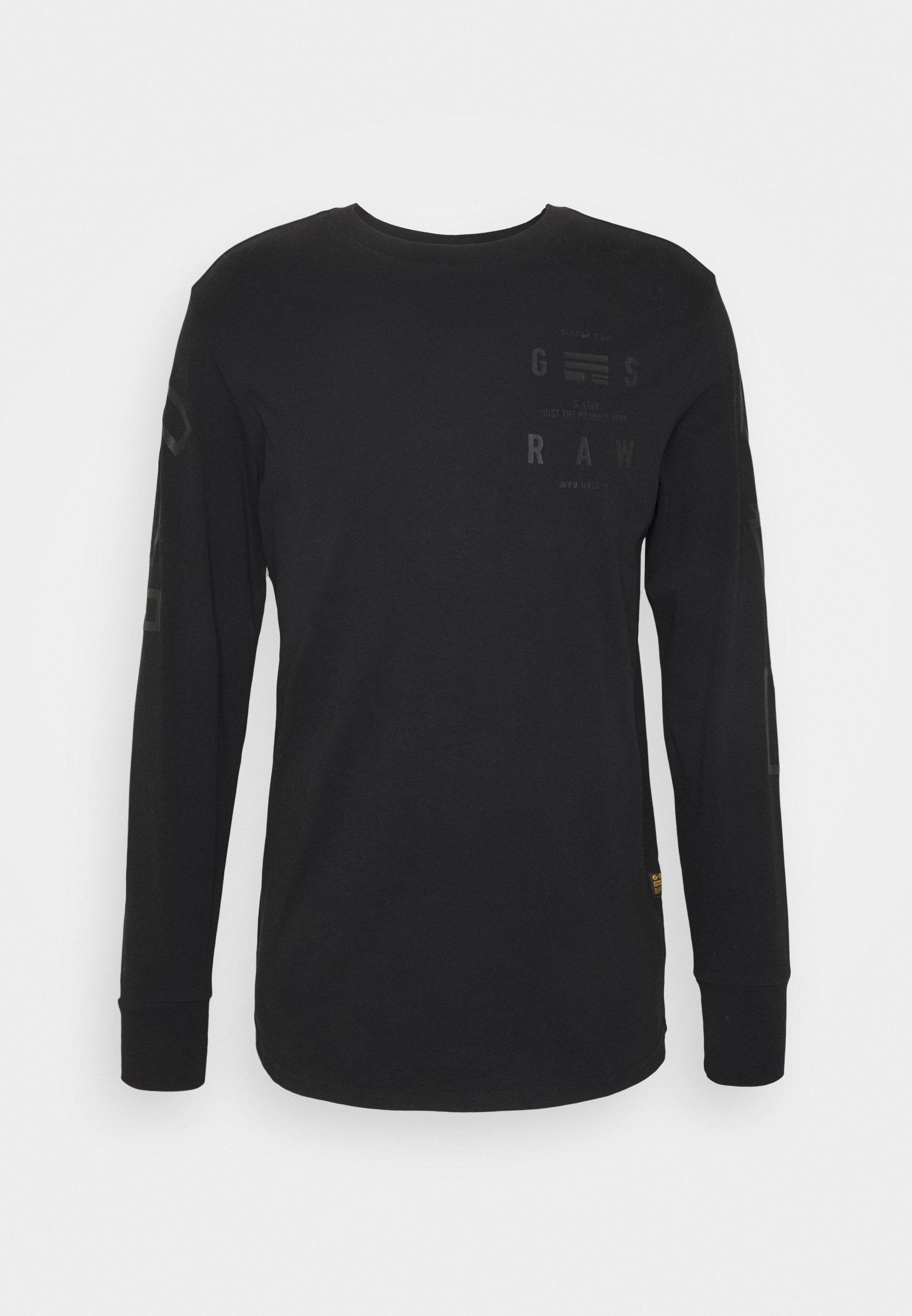 LOGO GRAPHIC Långärmad tröja black