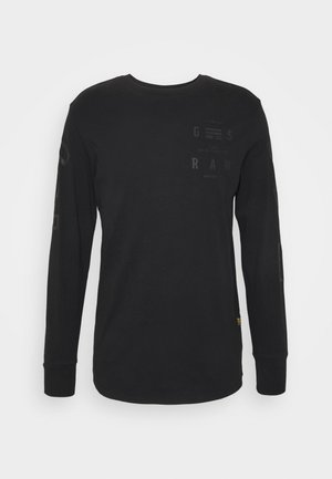 LOGO GRAPHIC  - Langærmede T-shirts - black